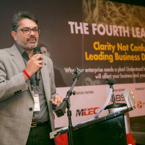 Girish Ramachandran is speaking at The Fourth Leap 2018