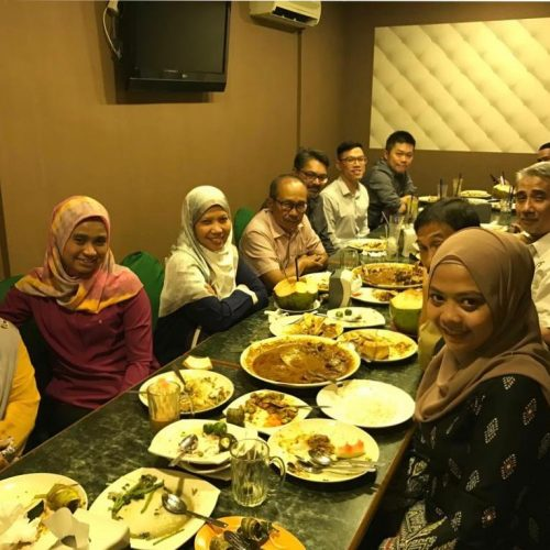 Lunch with Plan Malaysia and Smart Cities Study Team