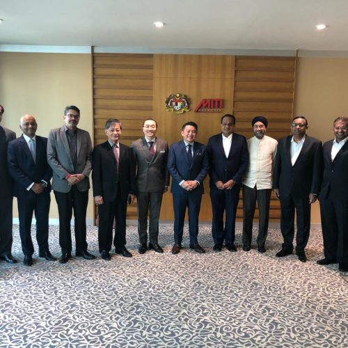 MIBC Meeting with MITI Minister and Management of MIDA, MITI and Matrade